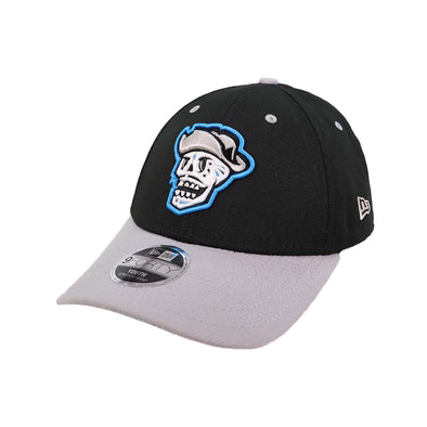 Kids' Las Vegas Reyes de Plata New Era Black/Gray 9Forty Stretch-Snapback Hat