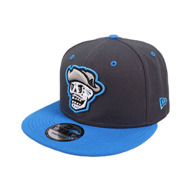 Las Vegas Reyes de Plata New Era Graphite/Blue 9Fifty Snapback Hat