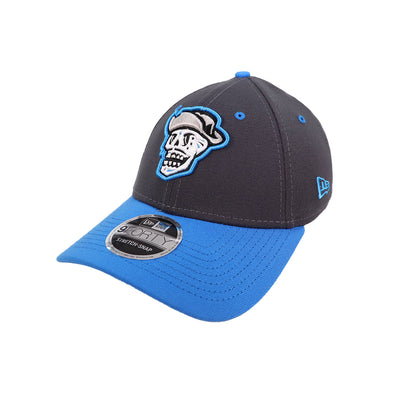 Las Vegas Reyes de Plata New Era Graphite/Blue 9Forty Stretch-Snapback Hat
