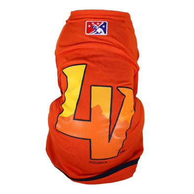 Pets' Las Vegas Aviators All Star Dogs LV Orange Jersey