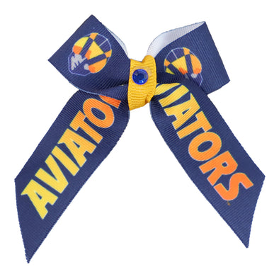 Pets' Las Vegas Aviators All Star Dogs Aviator Ribbon Bow