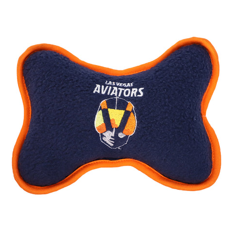 Pets' Las Vegas Aviators All Star Dogs Primary Logo Navy Squeak Toy