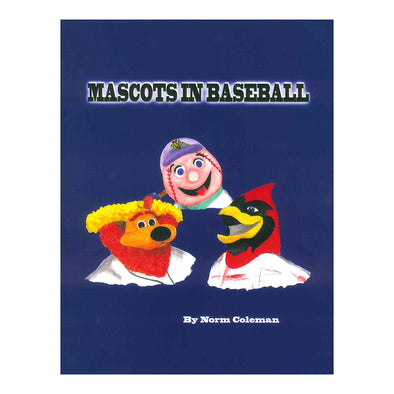 Mascots In Baseball Book