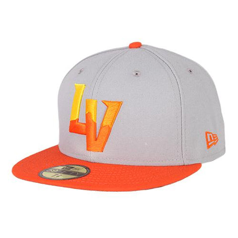 Las Vegas Aviators New Era On-Field Alternate Gray/Orange 59Fifty Fitted Hat