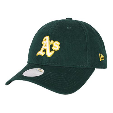 Women's Oakland Athletics New Era Team Glisten 9Twenty Strapback Hat
