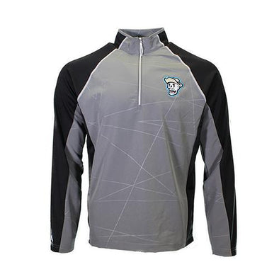 Men's Las Vegas Reyes de Plata Antigua Skull Thunder Gray/Black Pullover Jacket