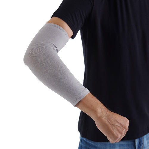 Edenswear Zinc-infused Fiber Tencel Eczema Elbow Sleeves For Adults