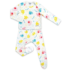 Edenswear Cotton  Pajamas Set For Baby with Eczema