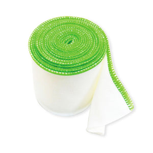 zinc fiber wet wrap bandage green