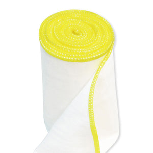 zinc infused wrap bandage yellow