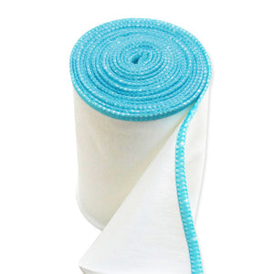 zinc infused  wrap bandage blue