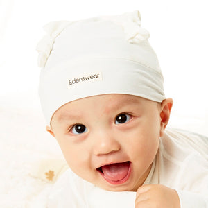 Edenswear Zinc-Infused New Born Baby hat for Baby with Eczema