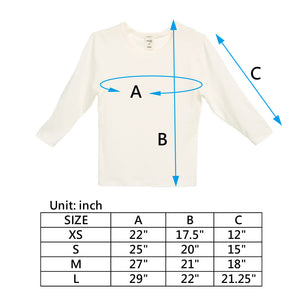Edenswear Zinc Infused Long Sleeve Shirt For Kids