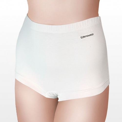 Edenswear Zinc Tencel Fiber women's Boyshort Boxer Brief panty