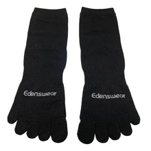 Load image into Gallery viewer, Edenswear Zinc-infused Tencel Eczema Moisturizing 5 Toe Socks for Adults