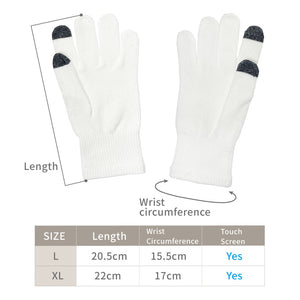 Edenswear Zinc Infused Tencel Eczema Seamless Gloves For Adult