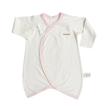 Load image into Gallery viewer, Edenswear Side-Snap Bear-Wrap Babysuit with Zinc-Infused Fabric for Skin with Eczema