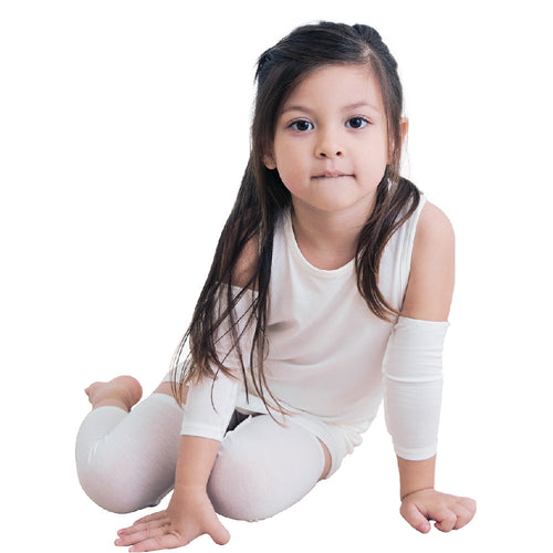 Edenswear Zinc-infused Tencel Eczema Elbow Sleeves For Kids