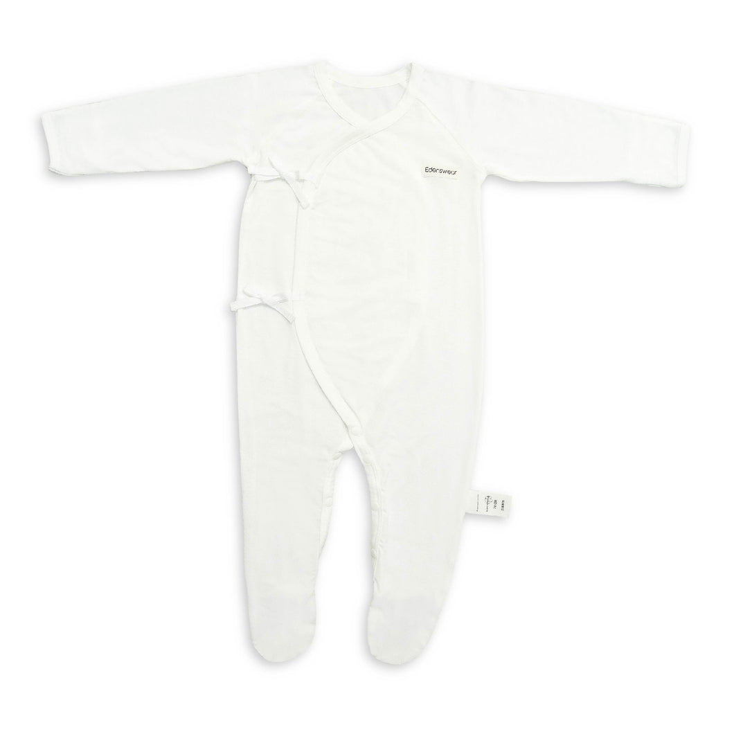 Edenswear Zinc-Infused Baby Coverall footed jumpsuit for Baby With Eczema