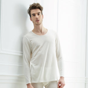 Edenswear Zinc Tencel Fiber Long Sleeve Shirt for Men