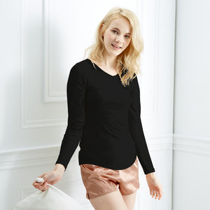 Zinc Infused Long Sleeve Shirt for Women