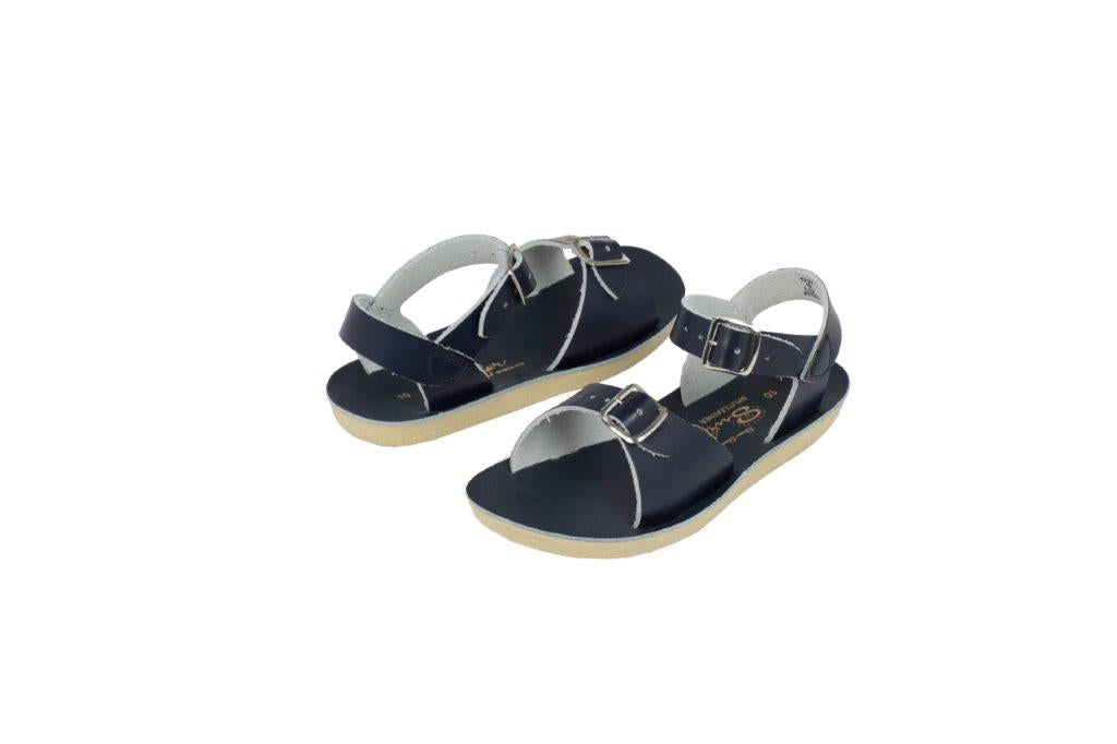Salt-Water Sandals Salt-Water Sandals Surfer - Navy - Pearls & Swines
