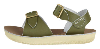 Salt-Water Sandals Salt-Water Sandals Surfer - Olive - Pearls & Swines