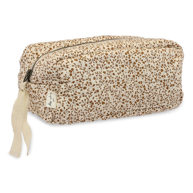 Konges Sløjd Quilted Toiletry Bag - Blossom Mist Birk - Pearls & Swines