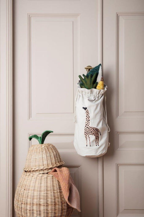 Ferm Living Ferm Living Pear Braided Storage - Pearls & Swines