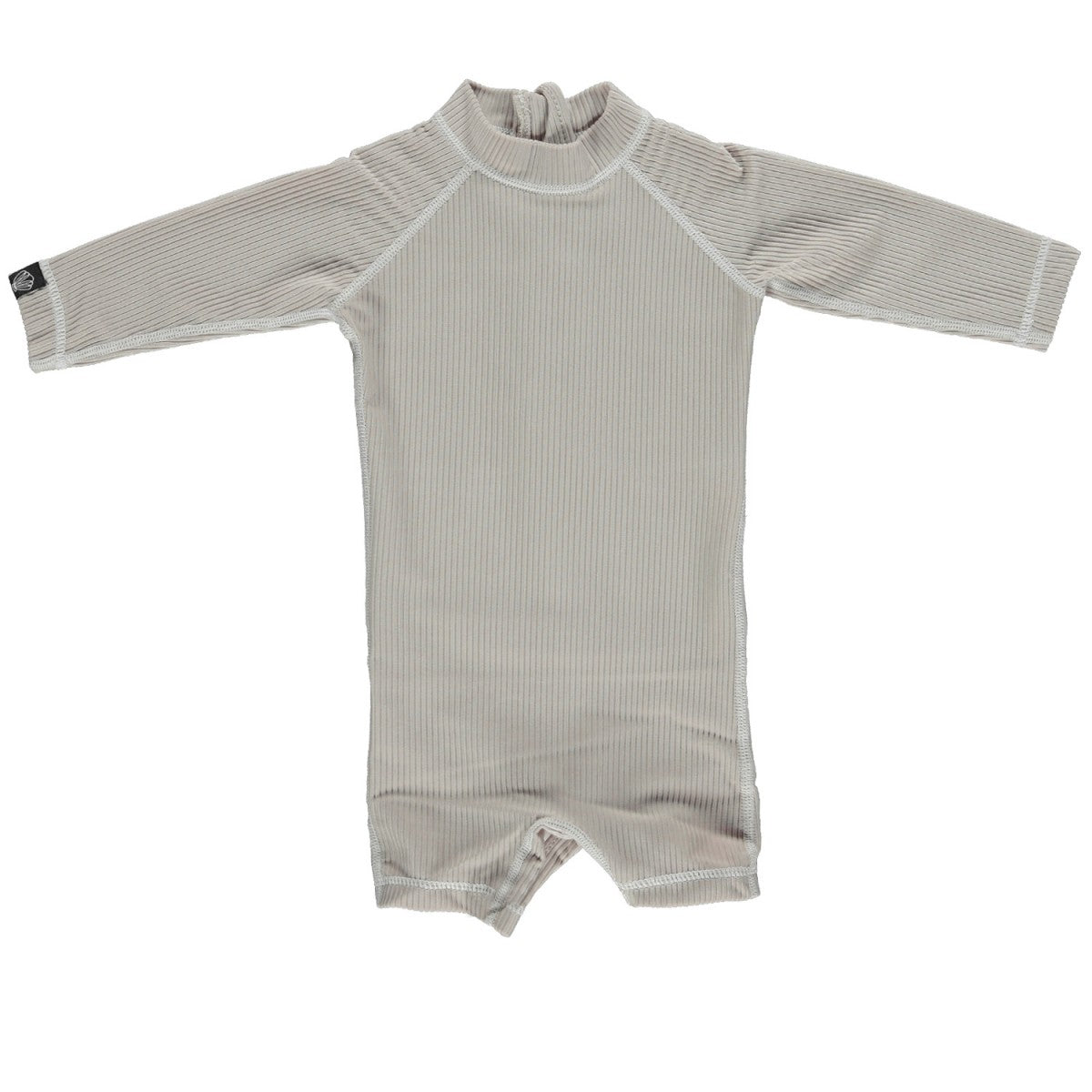 Beach & Bandits Beach & Bandits Sand Ribbed Baby Suit - Pearls & Swines