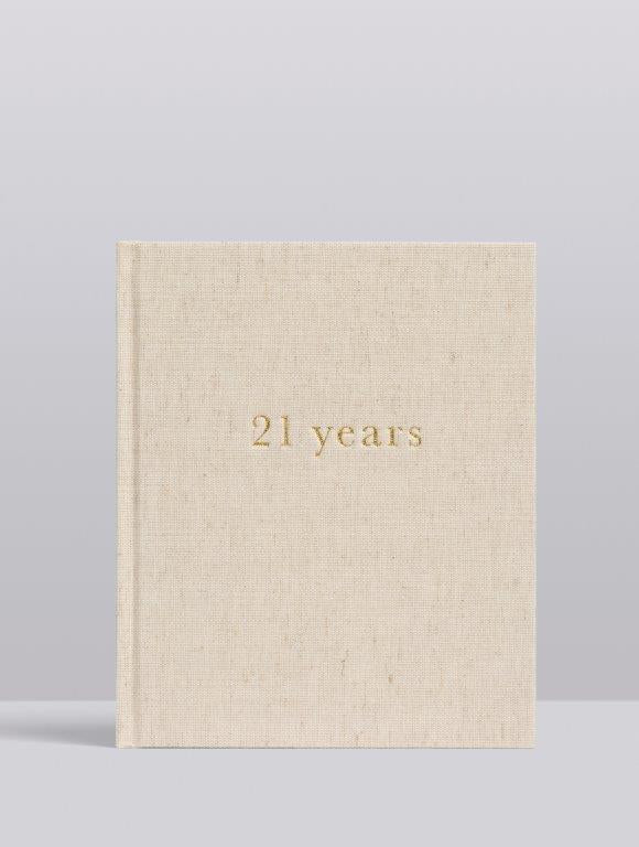 Write to me Write To Me 21 Years Journal - 21 Years Of You - Pearls & Swines