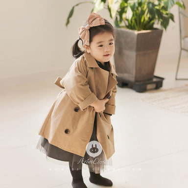 Arim closet Arim Closet Trench Coat - Pearls & Swines