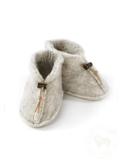 Alwero Alwero Baby Boots - Light Grey - Pearls & Swines