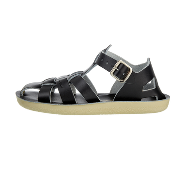 Salt-Water Sandals Salt-Water Sandals Shark - Black - Pearls & Swines