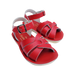 Salt-Water Sandals Salt-Water Sandals Swimmer - Red - Pearls & Swines