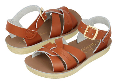 Salt-Water Sandals Salt-Water Sandals Swimmer - Tan - Pearls & Swines