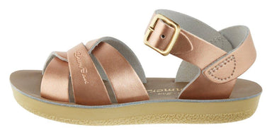 Salt-Water Sandals Salt-Water Sandals Swimmer - Rose Gold - Pearls & Swines