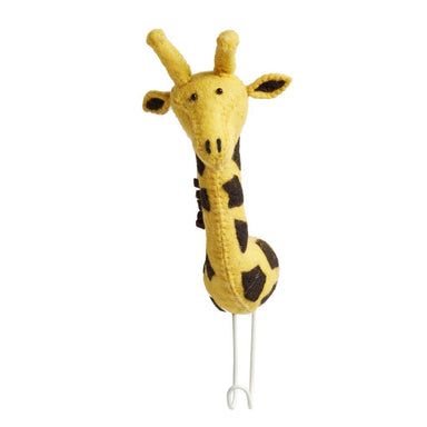 Fiona Walker Fiona Walker Big Single Head Hook Giraffe - Pearls & Swines