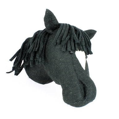 Fiona Walker Fiona Walker Animal Head - Black Horse - Pearls & Swines