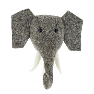 Fiona Walker Fiona Walker Trunk Up Elephant Large Hook - Pearls & Swines