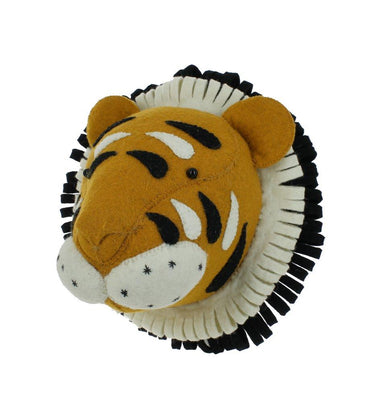 Fiona Walker Fiona Walker Tiger Head Mini - Pearls & Swines