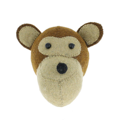 Fiona Walker Fiona Walker Camel Monkey Head Mini - Pearls & Swines