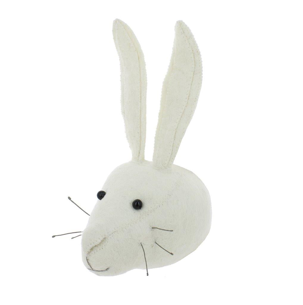 Fiona Walker Fiona Walker White Rabbit Head Mini - Pearls & Swines
