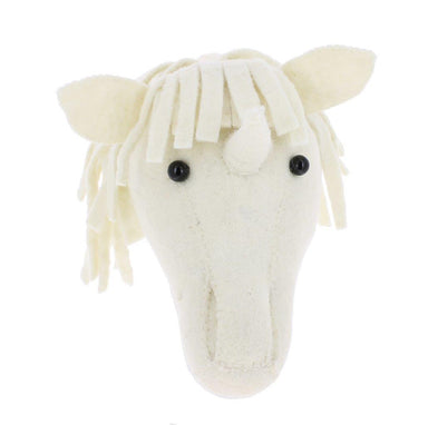 Fiona Walker Fiona Walker Baby Unicorn Head Mini - Pearls & Swines