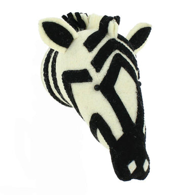Fiona Walker Fiona Walker Zebra Head Mini - Pearls & Swines