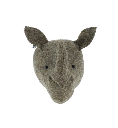 Fiona Walker Fiona Walker Rhino Head Mini - Pearls & Swines
