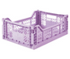 Aykasa folding crates Aykasa Folding Crate MIDI - Orchid - Pearls & Swines