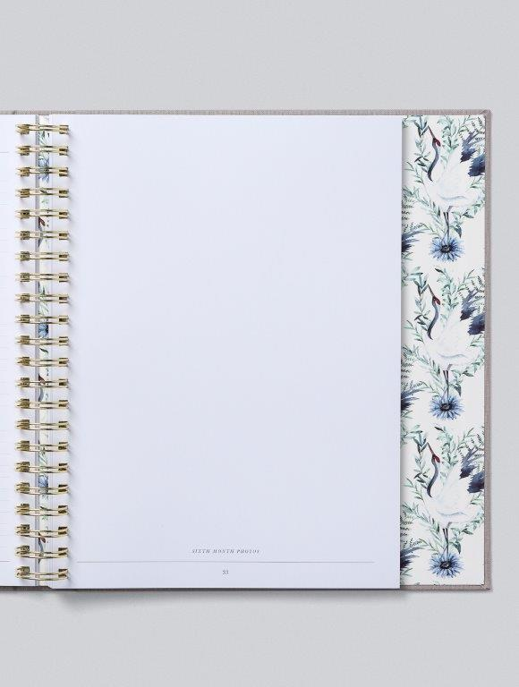 Write to me Write To Me Baby Journal (boxed) - Your First Five Years - Light Grey - Pearls & Swines
