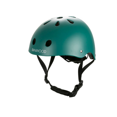 Banwood Banwood Classic Helmet - Matte Green - Pearls & Swines