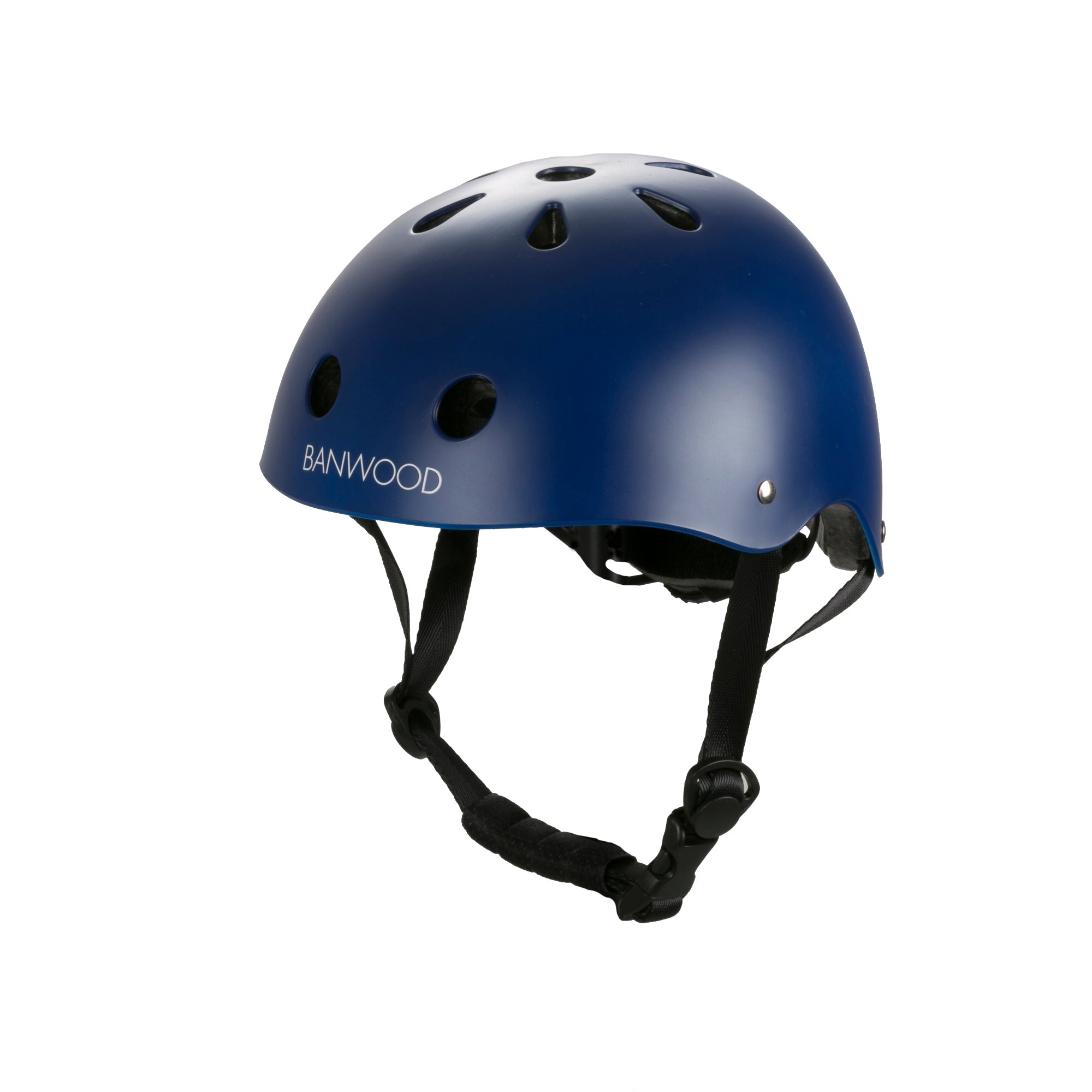 Banwood Banwood Classic Helmet - Matte Navy - Pearls & Swines